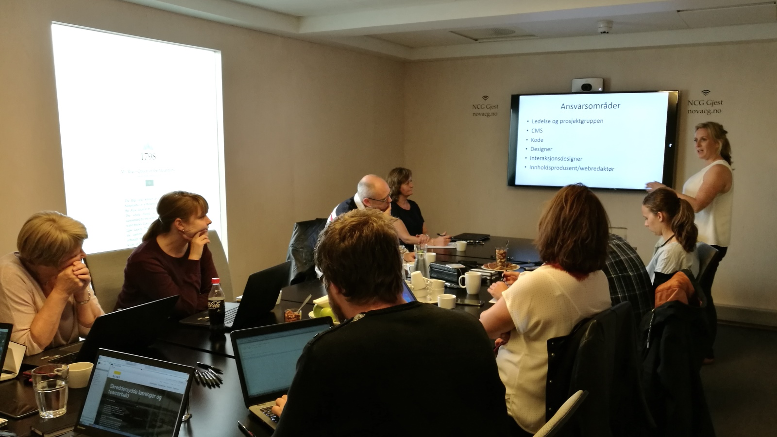 Episerver custom editor training at Epinova