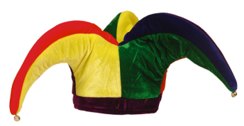 Jester hat worn by The Clown